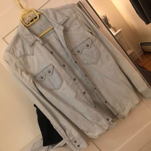 Zara Women Denim Shirt